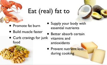 eat real fat