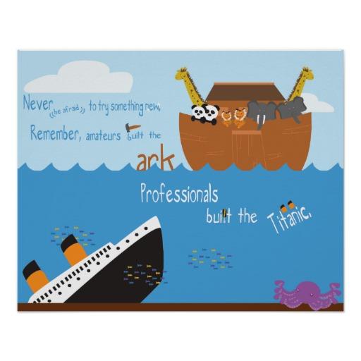 the ark vs the titanic