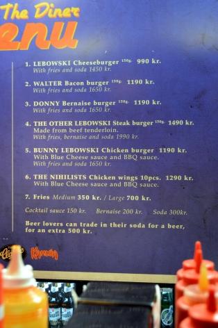 labowski bar menu